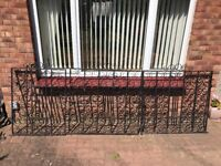 Wrought Iron gates. Two drive way and one side gate