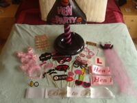 Hen Party Accessories Sashes, Head Boppers, Glasses, Tiara, Sign etc