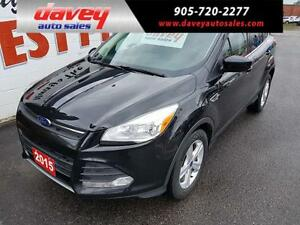 2015 Ford Escape SE HEATED LEATHER SEATS, BACK UP CAMERA