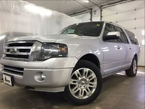 2014 Ford Expedition Max LIMITED-4X4, NAV, LEATHER, KYLS ENTRY,