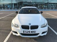ALPINE WHITE BMW 318i SPORT PLUS COUPE 61 PLATE