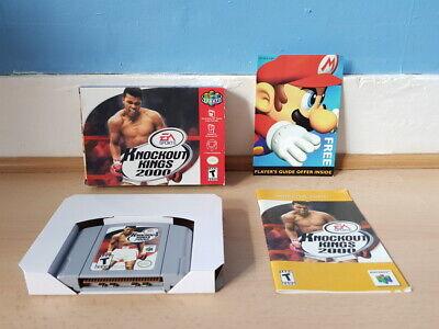 Knockout Kings 2000 N64 Complete NTSC (USA) VGC