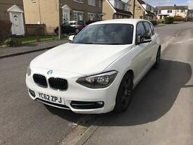 Bmw 116d sport efficiency dynamic full bmw history at nav Bluetooth parking sensors @ 5750