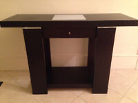 John Lewis Expresso Brown Console Table