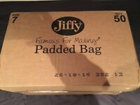 Box of 50 Size 7 Jiffy Passed Postage Bags