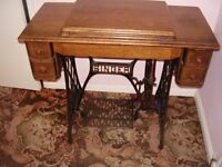 singer sewing machine no 66 with instruction dated 1924