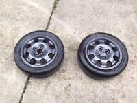 Peugeot 205 GTI alloy wheels