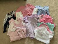 Girls 6-9 month clothes bundle