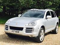 PORSCHE CAYENNE S (2007 - 07 REG) 'TIPTRONIC - 385 BHP - LEATHER - SAT NAV' *HUGE SPEC** (1 OWNER)