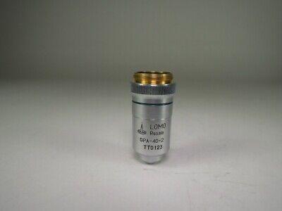 Lomo Microscope Odjective Qpa40-2