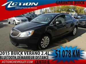2015 BUICK VERANO SEDAN Sedan,auto,air,bluetooth,démarreur