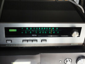 Vintage Trio kt-2001a Solid State AM - FM Stereo Tuner Perfect Working
