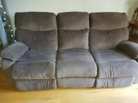 Sofa - 3 seater recliner - Harveys