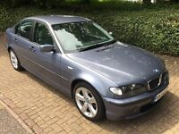 2004 BMW 316I 1.8 SE 4DR SALOON BLUE WITH FULL LEATHER