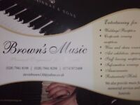 Enrolling in place now at Brown's Piano school