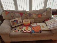 Mamas & Papas nursery accessories Jamboree collection bundle