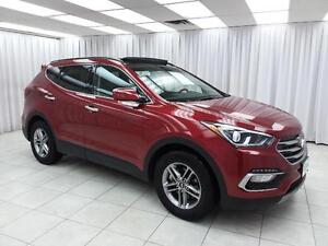 2017 Hyundai Santa Fe SPORT AWD SUV w/ HTD LEATHER, PANO ROOF AN