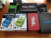 Guitar Pedal Clearout - Boss TC Electronic MXR Voodoo Lab Pedaltrain