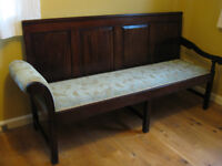 Antique Coachmans Settle