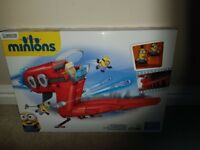 New megabloks minion jet