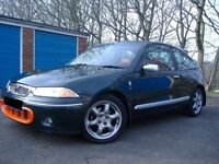 Rover 200 BRM LE (with 10 month warranty on head gasket)