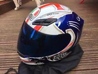 AGV K4 Lion Motorbike Helmet, with Tinted Visor