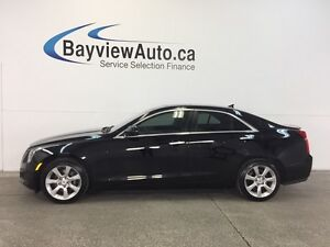2014 Cadillac ATS -TURBO! ROOF! BIG SCREEN! HEATED LEATHER!