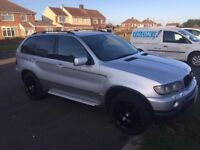 BMW X5 In mint condition for age. Recently had new gearbox. Lots of MOT. Refurbed alloys