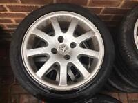 206 pug gti wheels £100