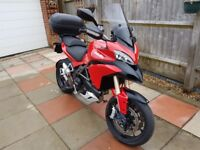 Ducati MULTISTRADA 1200 - 12 months MOT - full Ducati service history - loads of optional extras