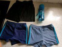 Age 5 swim and PE shorts
