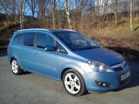 ★ 08 VAUXHALL ZAFIRA 1.9 CDTI 16V 150 BHP ( 7 SEATER ) ★ PX WELCOME OPEN 7 DAYS ★
