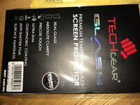 BNWT iPhone 5c tempered screen protector
