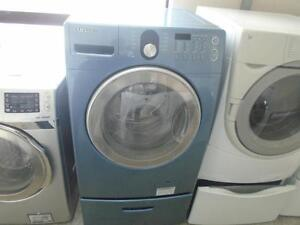 1001114 LAVEUSE SAMNSUNG AVEC SOCLE***SAMSUNG WASHER WITH PEDESTAL