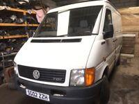 Volkswagen lt van spare parts available engine gearbox ecu set axel wheel door