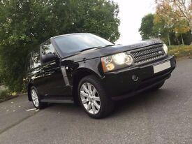 Range Rover SC 4.2L - 2005(05), piano black trim, black leather, exceptional condition