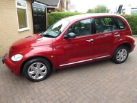 Immaculate low mileage one owner top of the range PT Cruiser Limited Addition