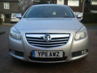 Vauxhall Insignia 2011 SRi CDTi Automatic in Silver Top Spec Engine Seized Spares or Repair