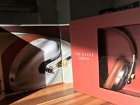 Ted Baker Headphones in Tan Leather.