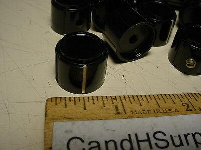 """Bakelite knob for 1/8"""" shaft lot of 40 pcs"""