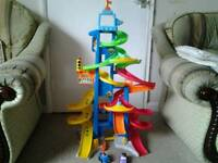 Fisher price little people city skyway set