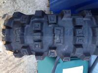 Michelin rear motorbike tyre 120/90-18