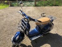 Lexmoto Milano Retro Style Scooter 50cc Derestricted