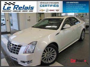 2013 Cadillac CTS SEDAN **AWD,GPS,CUIR,TOIT, GARANTI !