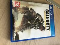 PlayStation 4 game call duty