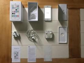 Apple iPhone 5s 16gb silver Vodafone smartphone