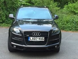 Audi Q7 3.0 TDI S Line Tiptronic Quattro 5dr FSH FULLY LOADED STUNNING CAR