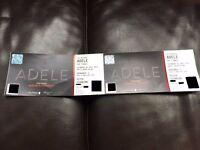 Adele, Wembley Stadium, Saturday 1st July (2 x Pitch Standing Tickets)