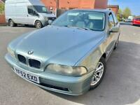 BMW 525d SE E39 model 2003 5 speed manual clean and excellent runner