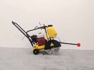 HOC PME-Q300 WALK BEHIND HONDA FLOOR SAW HONDA CONCRETE SAW + 14 INCH BLADE + FREE SHIPPING CANADA WIDE 2 YEAR WARRANTY